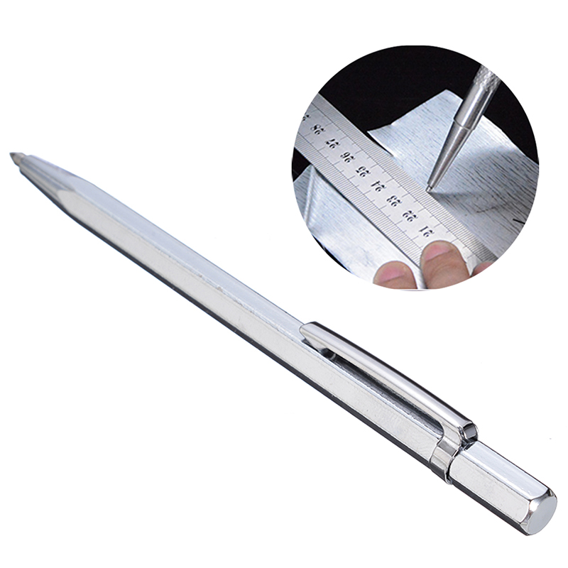 Tungsten Carbide Tip Scriber Pen Diamond Metal Marking Engraving Tool For Glass Concrete Wood Jewelry Carving Scribing Hand Tool