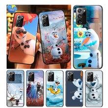 Olaf Snowman Frozen For Samsung Galaxy A01 A11 A12 A22 A21S A31 A41 A42 A51 A71 A32 A52 A72 A02S Soft Phone Case