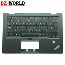 C-Cover Carbon Palmrest Laptop Backlit Keyboard Thinkpad Lenovo with BR Brazil for X1
