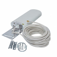 4G antenna outdoor 3G lte antena SMA male long range 20-25dbi 4G antena with 10m cable for Huawei ZTE router modem B310 B525