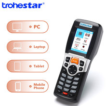 Trohestar Daten Sammler PDA Barcode Scanner 1D Bar Code Reader Wireless Handheld Inventar Zähler Bar Code Scanner