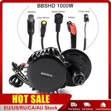Bafang Ebike אמצע כונן מנוע BBSHD 1000W 68MM 100MM 120MM BBS02B 750W 500W BBS01 350W 250W 36V 48V חשמלי אופניים יחיד מנוע