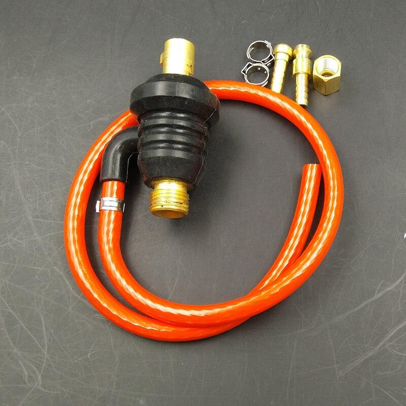 WP 9 Series Adapter Coupler M16x1.5mm To Dinse DJK10-25 M10 9mm Gas Tig Torch