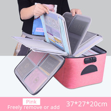 Box Organizer Storage-Bag Papers Document Travel Waterproof Large-Capacity High-Quality