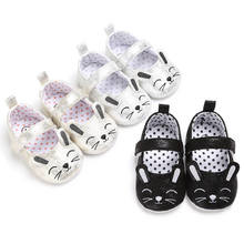 Toddler Cute Animal Cat Baby Shoes Lovely Little Boys Girls Soft Sole Sneaker Crib Shoes With Ear Newborn First Walkers(China)