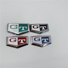 4 цвета для Nissan Skyline R34 R32 GTR GTT GT переднее боковое крыло эмблема значок Логотип Автомобильное украшение
