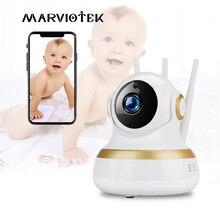 Wifiベビーカメラ 1080pホームセキュリティワイヤレスipカメラのwifiビデオ乳母カメラ監視ベビー電話カメラp2p