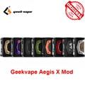 GeekVape Aegis X Бокс мод НОВЫЙ AS 2 0 набор микросхем питание от двух аккумуляторов 18650 для атомайзера с резьбой 510 vape vs ageis solo