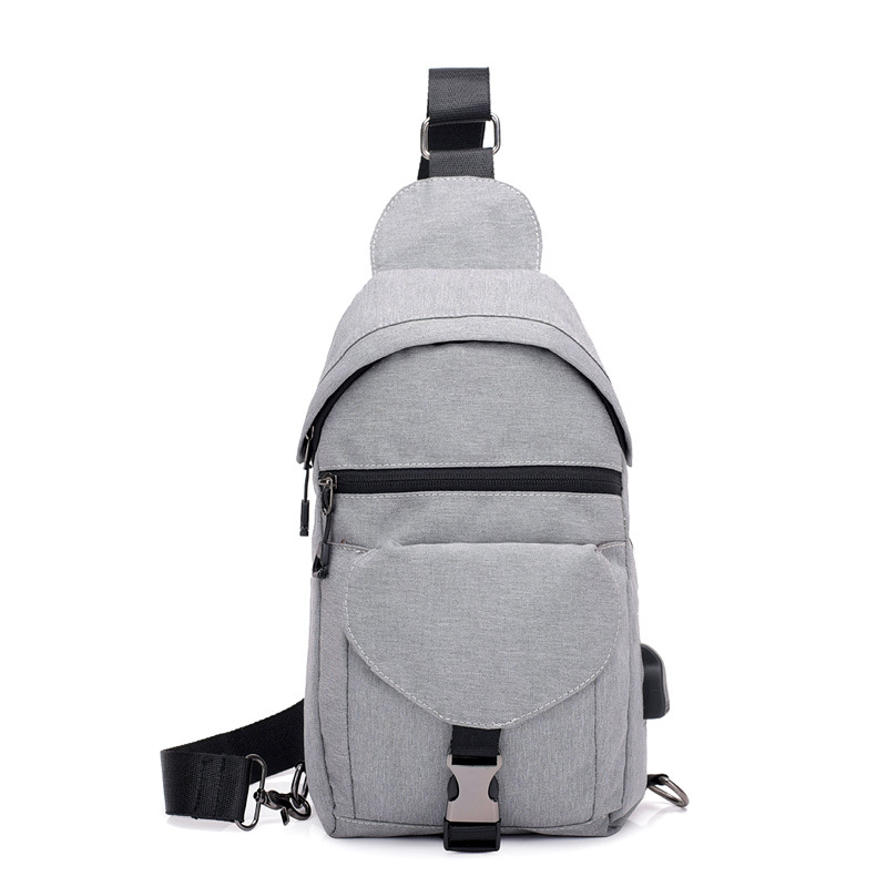 2018 New Style Men Chest Pack Multi-functional Shoulder Bag Waterproof Wearable Casual Sports Shoulder Bag