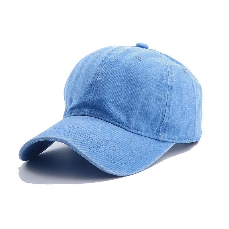 Solid Spring Summer Cap Women Ponytail Baseball Cap Fashion Hats Men Baseball Cap Cotton Outdoor Simple Vintag Visor Casual Cap 20
