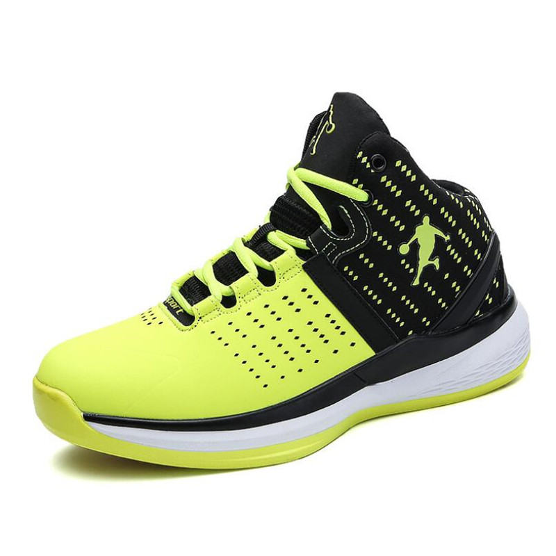 New High top Jordan Basketball Shoes Men Wearable Sneakers Cushioning Breathable Sport Shoes Outdoor Male Training Ankle Boots|Basketball Shoes| |  - title=
