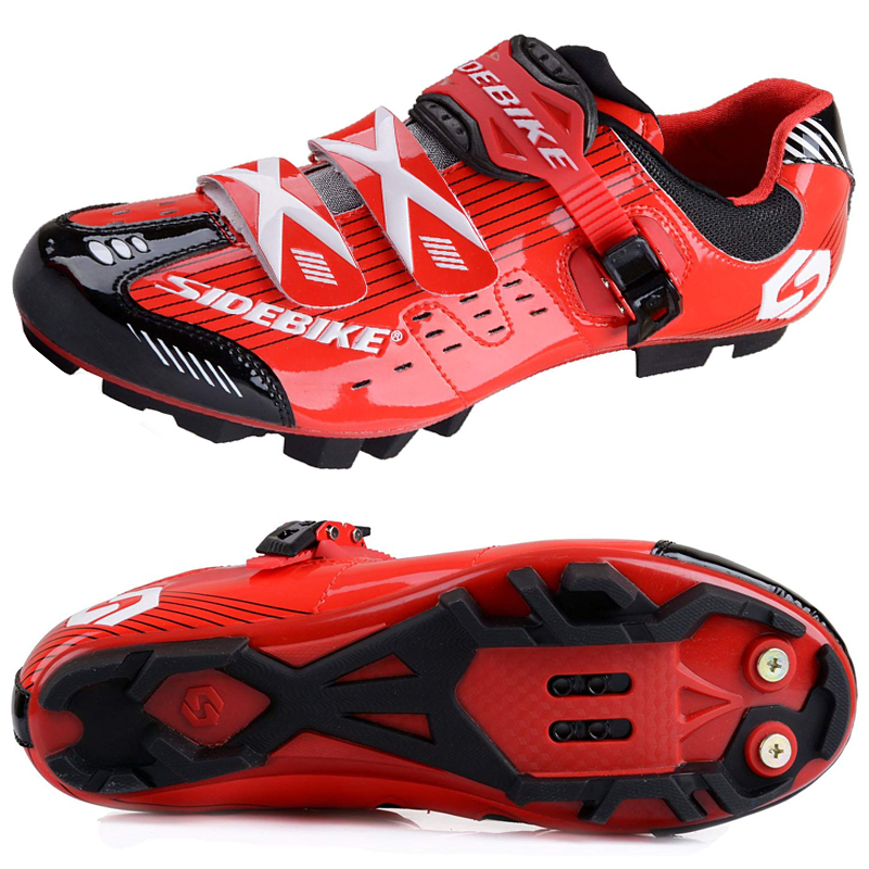 2019 New Sidebike MTB Shoes Mountain Bike Cycling Bicycle Shoes Highway Lock Men Athletic Bicycle Cycling