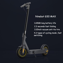 Ninebot MAX G30 Original Scooter Hoverboard 350W Power 10inch wheel 65Km mileage Electric KickScooter  Smart Electric Scooter