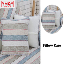 Modern Polyester&Cotton Fabric Sofa Cover Striped Design Slipcover Sofa Armrest Towel Couch Cover On The Corner For Decoration H все цены