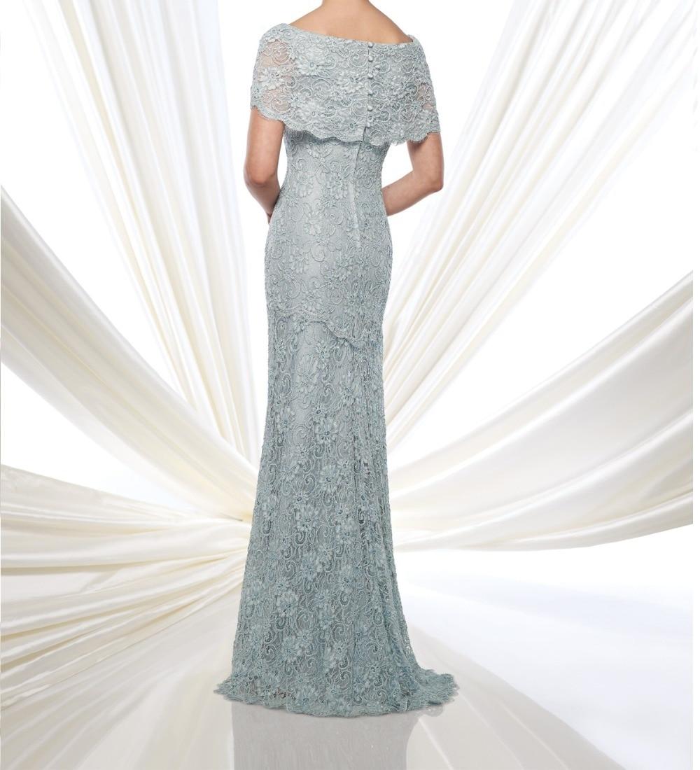High Quality Elegant Lace Floor-Length Mother Of The Bride Dresses Vestido De Festa De Casamento M1