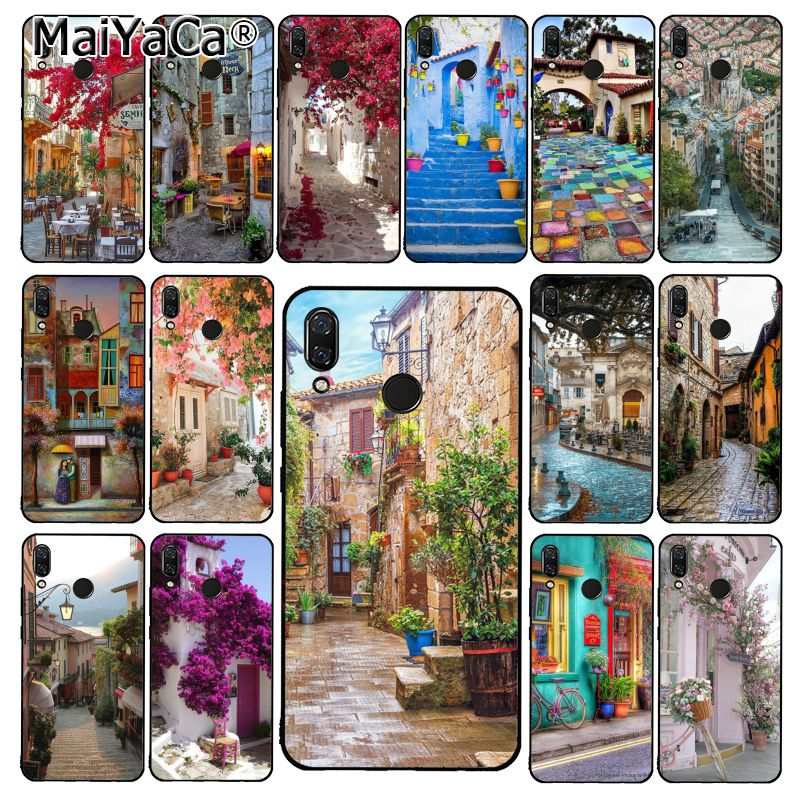 MaiYaCa travel italy France London Flower World Places Phone Case for Xiaomi Redmi4X 6A S2 8T Redmi 5 5Plus Note4 5 7 Note6Pro image