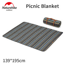 Naturehike Simple Style Picnic Mat Washable Moisture-proof Tent Mat Outdoor Portable Thickening Travel Blanket Polyester Cotton