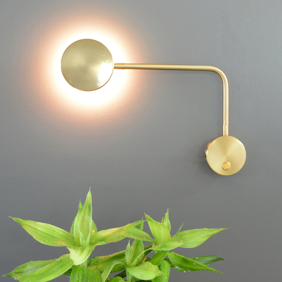 Modern Arm Swivel LED Wall Sconce Lamp Indoor Wall Lamps