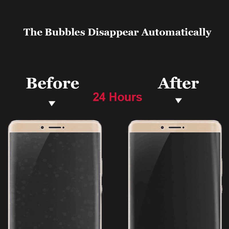 """لسامسونج غالاكسي ملاحظة 8 Note8 N950 6.3 """"غطاء كامل واقية ملصق دائم النقي شفافة عودة واقي للشاشة فيلم"""