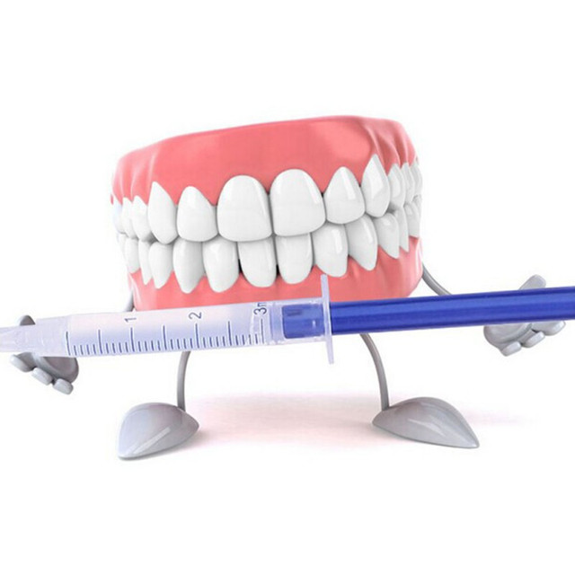 Top Quality Peroxide Teeth Whitening Kit Bleaching System Bright White Smile Teeth Whitening Gel Kit With LED Light Professional 4