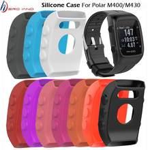 Reloj inteligente funda de silicona suave para POLAR M400 colorido Durable Shell protector perfecto para Polar M430 pulsera cubierta