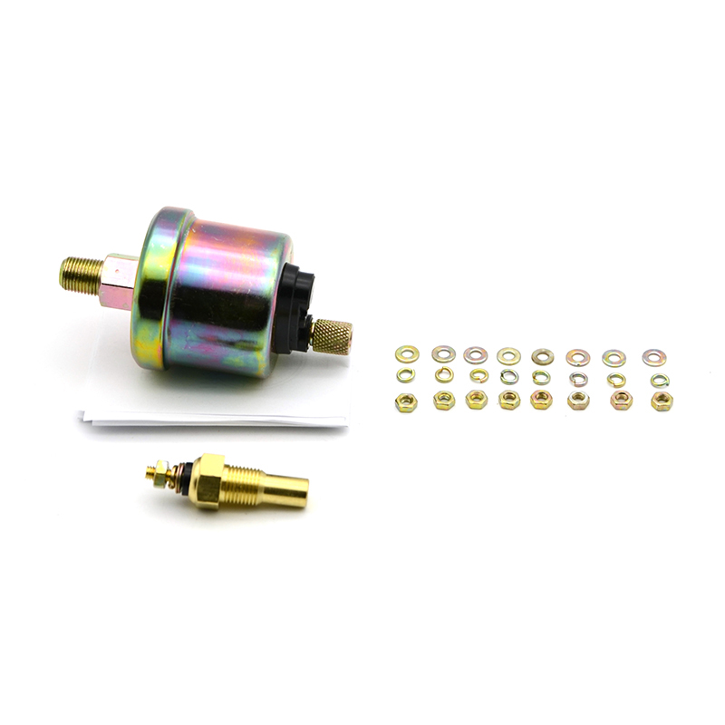 52mm 2/'/' Triple 3 3in1 Gauge Volt Meter Water Temp Oil Pressure 12V Universal