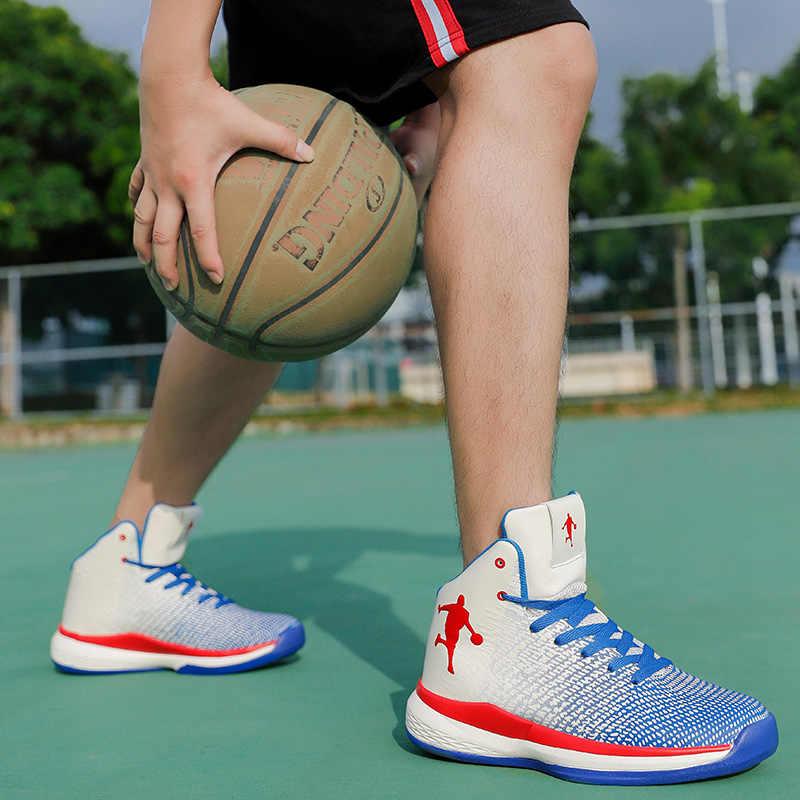NIKEZI 36-47 Grande Tamanho Ao Ar Livre Indoor Profissional Das Mulheres Dos Homens Das Meninas do Menino Estudante Exercício Jogo de Basquete Sapatos Jordan Aj sneakers