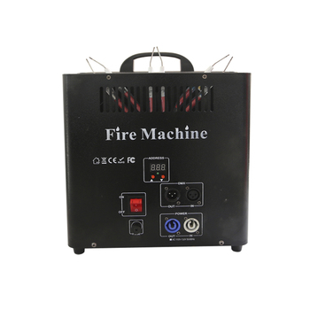 Ignition Machine Stage Flame Machine DMX Control Spray Stage Effect Flame Projector Equipment Fountain 3 Channel New free shipping 10pcs lot new disign 200w dmx 512 fire machine stage effect equipment fire flame machine for stage lighting effect