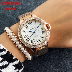 CONTENA Fashion Watch Diamond
