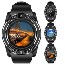 Smart watch Bluetooth Сенсорный экран Android Водонепроницаемая спортивная обувь для мужчин и женщин smart watch с камера сим-карта слот ПК DZ09
