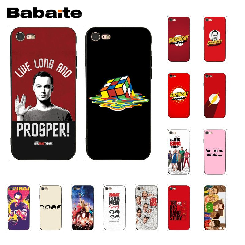 Babaite The <font><b>Big</b></font> <font><b>Bang</b></font> Theory <font><b>Phone</b></font> <font><b>Case</b></font> for iphone 11 Pro 11Pro Max X XS MAX 6 6s 7 7plus 8 8Plus 5 5S SE XR image