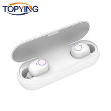 TOPYING Q1 TWS Bluetooth 5.0 Earphone Mini True Wireless Earbuds Headphones With Mic Sport Cordless Handsfree Headset For Phone