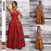 Dashiki African Dresses For Women Clothes Dress Ankara Africa