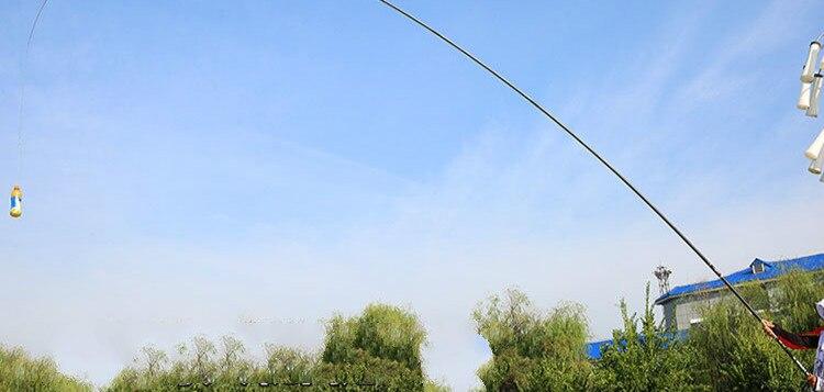 Potência mão pólo pesca vara de pesca