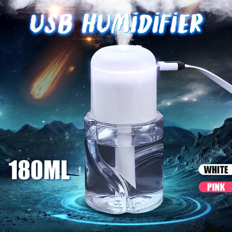 Aroma Diffuser Humidifier Portable Making-Fog Air-Humidifier Water-Bottle Water-Bottle Making-Fog