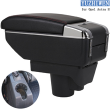 For Opel Astra Armrest Box Opel Astra H Universal Car Central Armrest Storage Box cup holder ashtray modification accessories cheap YUZHIWEN 2004-2014 18cm 37cm HIPS Armrests Special Features Handrails Storage Rise Mobile device charging