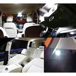 Image 5 - מושלם לבן Canbus שגיאת משלוח פנים LED הנורה כיפת מפת מקורה קריאת אור ערכת לאאודי Q3 Q5 SQ5 Q7