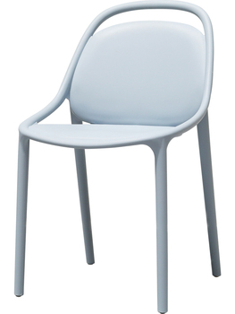 Denmark Original Nordic Dining Chair Simple Modern Plastic Back Chair Outdoor Leisure Chair Hotel Office Conference Chair