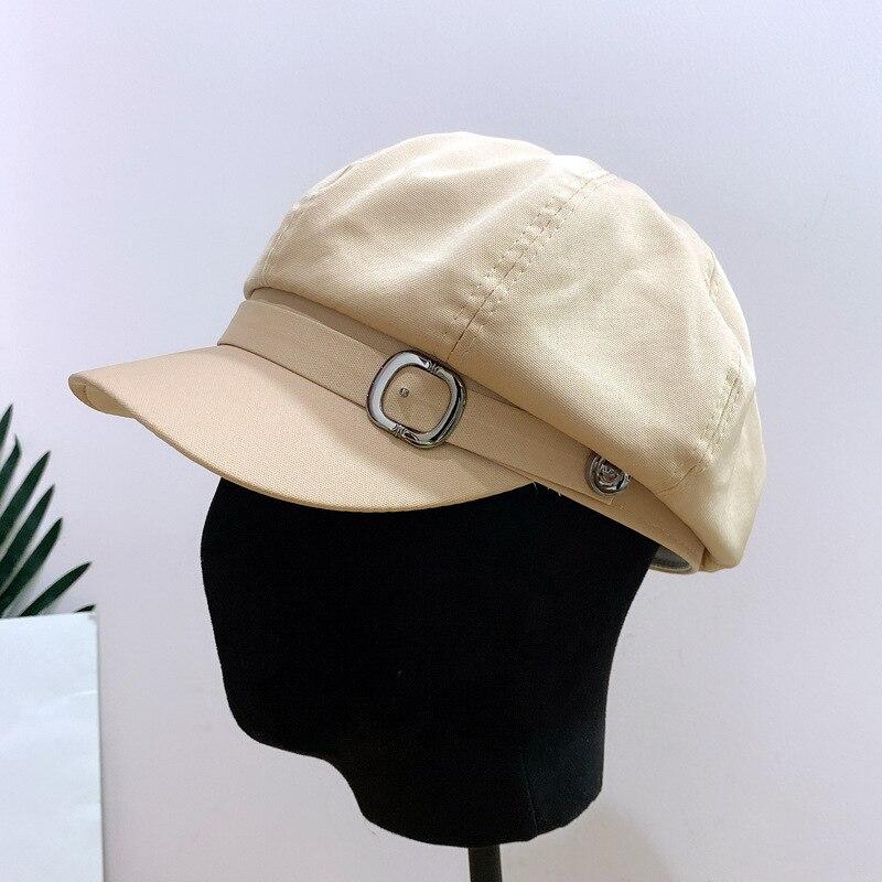 Women Summer Autumn Thin Baker Boy Painter Casquette Octagonal Hat Beret Designer Retro England New Fashion