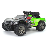 KY 1885B 2.4GHz RC Car 1/18 2WD Big Wheel RC Cars Off Road Short Truck for Kids Beginners with Remote Controller / Battery