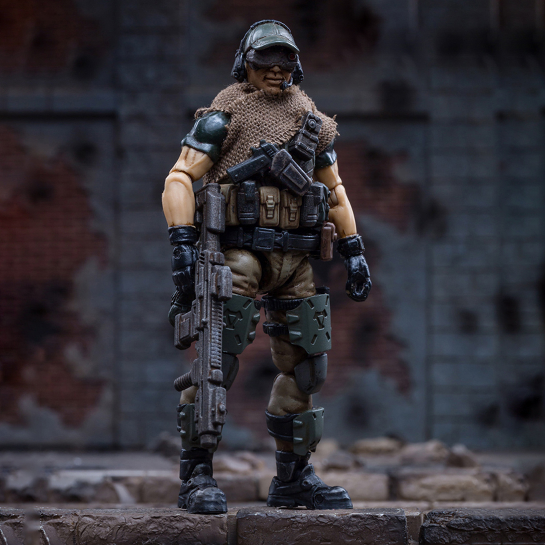 1//18 Soldier Model 3D Russian Federation Caucasus Team DIY Fine Toy for Men