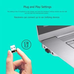 Image 4 - Logitech K400 PLUS Wireless TOUCH Keyboard W/ทัชแพดสำหรับ Android สมาร์ททีวีคอมพิวเตอร์อุปกรณ์ต่อพ่วง