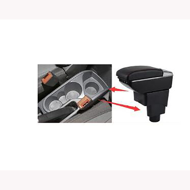 For Ford Ecosport 2013 2017 car central container armrest box auto car styling central Store content box cup holder accessori