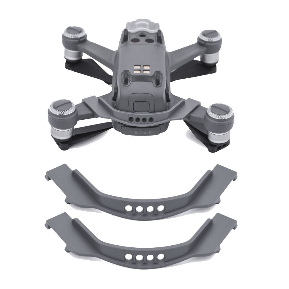 For DJI Spark Drone Anti-slip Strap Cover Protector Safety Locker Guard Mount Flight Battery Buckle Fuselage Protective Mount