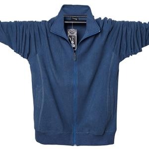 Image 1 - 2020 Men Big Tall Long Sleeves Sweatshirts Oversized Hoodies Cotton Male Large Man Clothing Autumn Fit Hoodie Plus Size 5XL 6XL