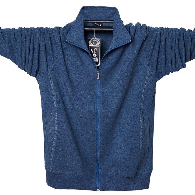 2020 Men Big Tall Long Sleeves Sweatshirts Oversized Hoodies Cotton Male Large Man Clothing Autumn Fit Hoodie Plus Size 5XL 6XL
