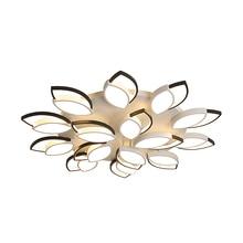 Remote New Design acrylic Modern Sunflow Led Ceiling chandelier For Living Room Bedroom lampe plafond avize Indoor chandelier недорого