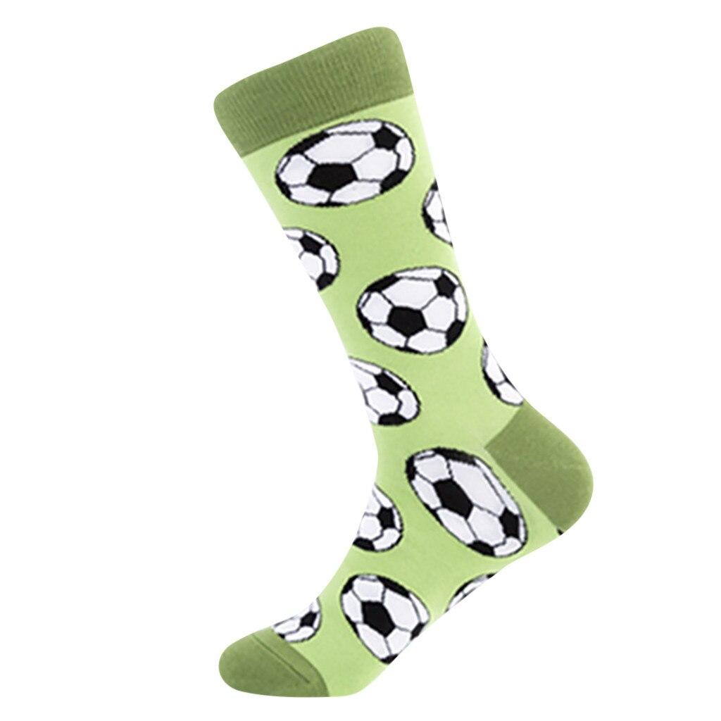 Модные мужские носки с принтом безопасные прочные хлопковые короткие уличный скейтбордный Спорт носки удобные мягкие забавные Чулочные изделия счастливые носки подарок
