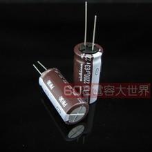 10PCS NUOVO NICHICON PW 63V2200UF 18X40MM condensatore elettrolitico 63V 2200UF Alta frequenza di lunga vita 2200uF/63V