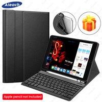 Funda para teclado para iPad Air 3 Air 2 Air 1 funda con portalápices teclado Bluetooth para iPad Air 2019 10 5 Air 1 2 9 7 funda|Fundas de tablets y libros electrónicos|   -